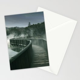 Steamy Path Stationery Cards
