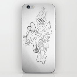 The Simple Elements iPhone Skin