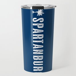 Spartanburg, South Carolina Travel Mug