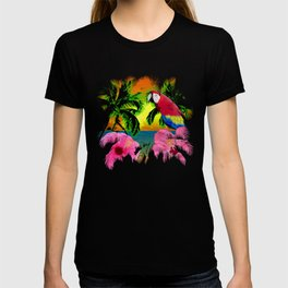Palm Trees And Island Sunsets T-shirt