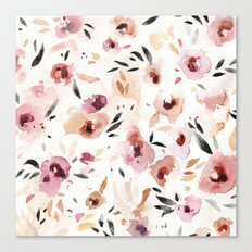Wild Pansies Canvas Print