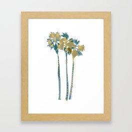 Palm Tree Breezes Framed Art Print