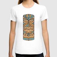 tiki T-shirts featuring Tiki by Brad Hansen