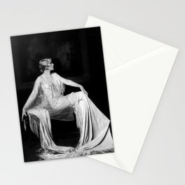Muriel Finlay, Ziegfeld Follies Jazz Age black and white photograph Stationery Cards