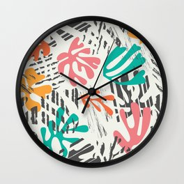 Matisse Pattern 011 Wall Clock