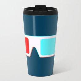 3-D Glasses Travel Mug