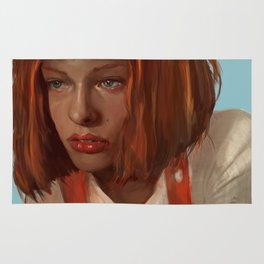 leeloo - the fifth element Rug