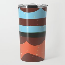Abstract Graphic Digital Art Background GC-117-1 Travel Mug