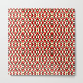 Geometric Ethnic Boho 6 Metal Print