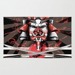 Samurai Flag Rug