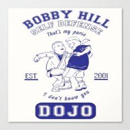 Bobby Hill Self Defense Canvas Print