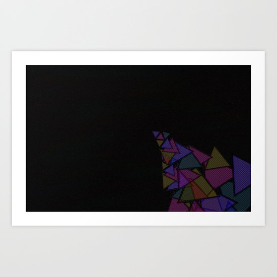 There Will Be Triangles Art Print