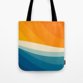 Abstract landscape art Tote Bag