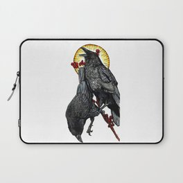 Leave Me Starving for Answers Laptop Sleeve