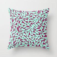 Visual English III Throw Pillow