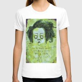 Jag är inget årgångsvin (Grön) T-shirt