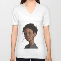 dylan V-neck T-shirts featuring Dylan by Notwhatnot