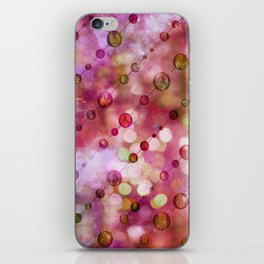Cryptic fancy light in vibrant colors iPhone Skin