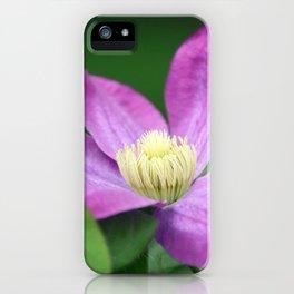 Clematis iPhone Case