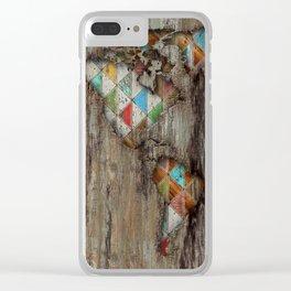 My Geometric World Clear iPhone Case