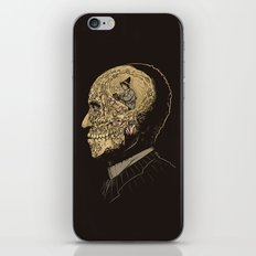 Why zombies want brains iPhone & iPod Skin
