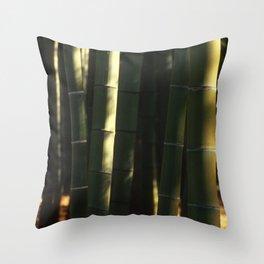 Bamboo Grove Throw Pillow