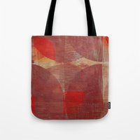 moon phases Tote Bags featuring Moon Phases by Fernando Vieira