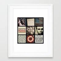 politics Framed Art Prints featuring Conservative Politics by politics