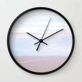Soft Sandy Beaches Wall Clock