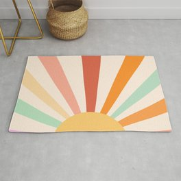 Boho Sun Colorful Rug