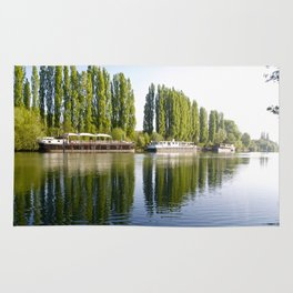 River Oise at Auvers. Rug
