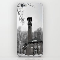 poland iPhone & iPod Skins featuring Poland Springs Museum by Catherine1970