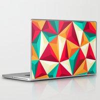 diamond Laptop & iPad Skins featuring Diamond by Azarias