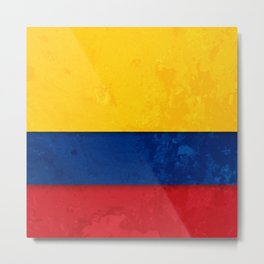 Colombia Metal Print