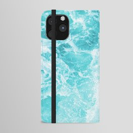 Perfect Sea Waves iPhone Wallet Case