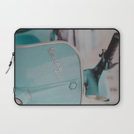 Mint Vespa  Laptop Sleeve