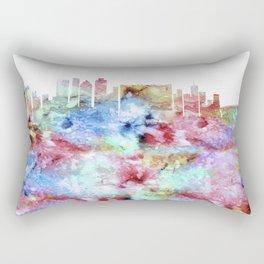 Cape Town City Skyline Rectangular Pillow