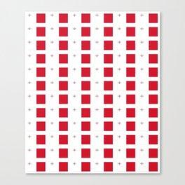 flag of Malta-maltese,maltes,malti,valletta,birkirkara,mosta,Gozo,mediterranenan Canvas Print