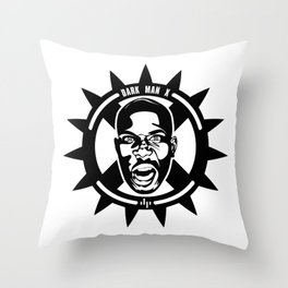 DMX - Dark Man X - Minimalist Poster Throw Pillow