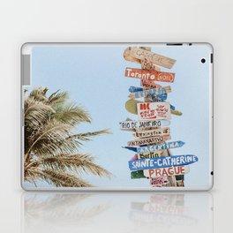 summer wanderlust Laptop & iPad Skin