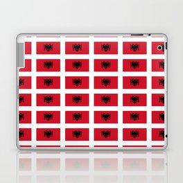 Flag of Albania- Albania,Albanian, Shqipëri,illyrian,ilire,Tirana,Balkan. Laptop & iPad Skin