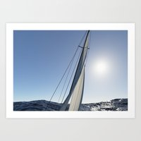 sail Art Prints featuring Sail by lalula
