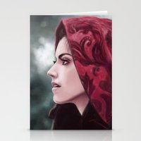 ruby Stationery Cards featuring Ruby by Svenja Gosen