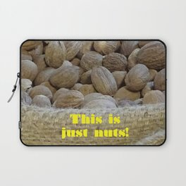 This Is Just Nuts Laptop Sleeve