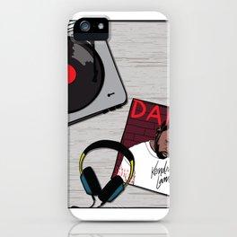 DamnRecord iPhone Case