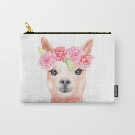Sweet Alpaca Carry-All Pouch