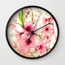 Spring is in the air! Wall Clock