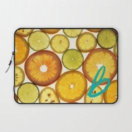 Citrus - Citron (Recettes du Bonheur) Laptop Sleeve