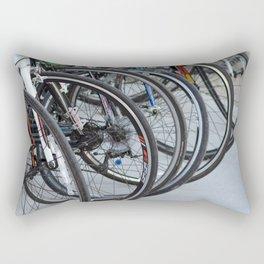 Bicycle Wheels Rectangular Pillow