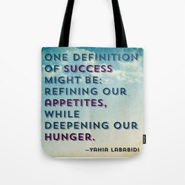 Definition of Success Tote Bag